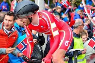 Toft Madsen wint tijdrit in Ronde van Denemarken, Bouwman nipt in top tien
