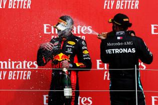 Button: 'Was voor Red Bull een schok om te winnen op Silverstone'