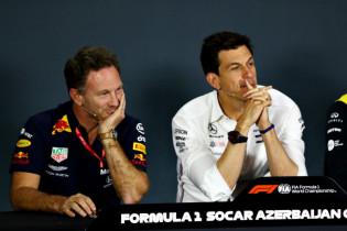 Wolff verwerpt favorietenrol: 'Ferrari en Red Bull staan er ook goed voor'