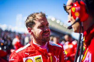 Vettel maakt zich niet druk: 'Wil zo hoog mogelijk eindigen'