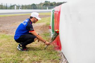 Gasly herdenkt Bianchi op Suzuka: 'Teruggaan is altijd emotioneel'