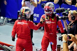 Waarom juichtte Vettel zo ingetogen na overwinning in Singapore?