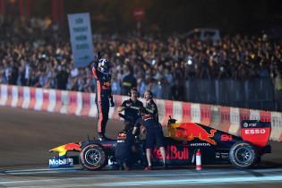 Tribune's waarschijnlijk gewoon vol bij Grand Prix Vietnam