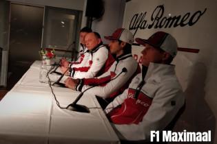 Vasseur gelukkig met Raikkonen en Giovinazzi: 'Ze brengen ons allebei vooruit'