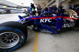 Ondertussen in de F1   Alpha Tauri al in touw met pitstops