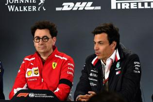 Binotto heeft Mercedes in het vizier: 'Ontwikkelingen brengen ons dicht bij Mercedes'