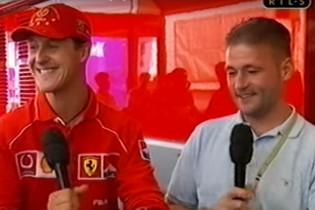 Vettel: 'Hij is na Ferrari naar Mercedes gegaan als ik mij niet vergis'