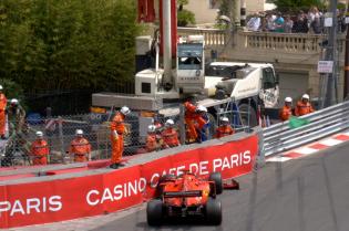Update   Bolide Vettel is klaar voor kwalificatie in Monaco