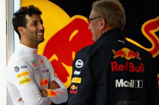 Ricciardo: 'Marko kwam naar me toe en gaf me een dikke knuffel'