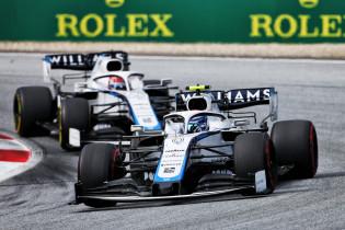 Williams in de problemen ondanks vinden snelheid: 'Auto lastig te besturen in verkeer'