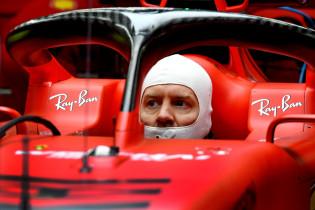 Vettel: 'Qua rangorde moeten we realistisch blijven'