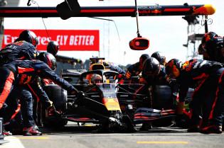Red Bull verliest voor het eerst van Williams in kampioenschap om snelste pitstop