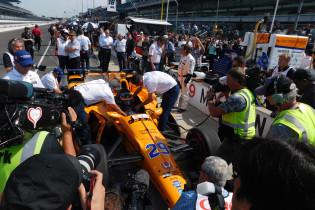 Update | Alonso blijft bij McLaren voor Indy 500: 'McLaren-Chevrolet pakket indrukwekkend'