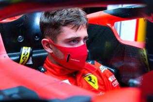 Leclerc: 'Het blijft toch leuk om in een Ferrari te rijden'