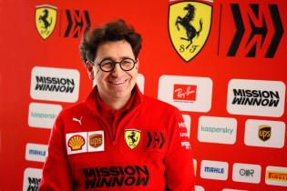 Binotto houdt voet bij stuk: 'Keuze voor Sainz de juiste'