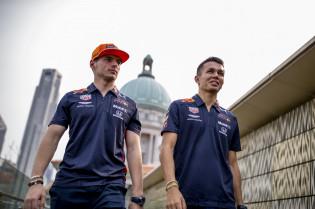 Horner in zijn nopjes met 2020 opstelling Red Bull: 'Ze zijn een sterk duo'