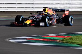 Red Bull Racing test 25 juni op Silverstone evolutie van de RB16