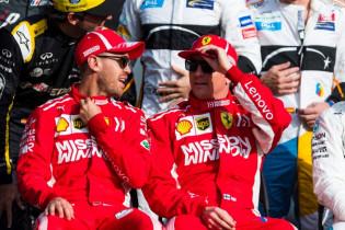 'Vettel en Räikkonen al in vliegtuig vóór officiële annulering'