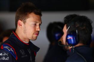 Kvyat over Red Bull: 'De druk staat er vanaf het begin af aan op'