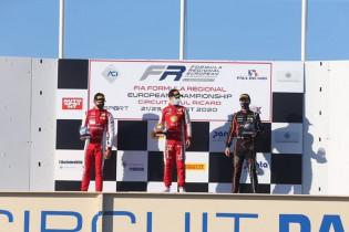 Arthur Leclerc domineert in zijn klasse: 11 podiums op rij na drievoudige winst