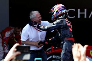 Marko: 'Dacht bij eerste gesprek met Max direct aan zijn kansen in F1'