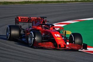 Ferrari in week twee met een drietal aanpassingen aan de SF1000