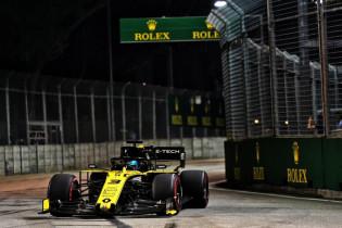 Renault accepteert diskwalificatie Ricciardo: 'Al was er slechts een microseconde tijdwinst'