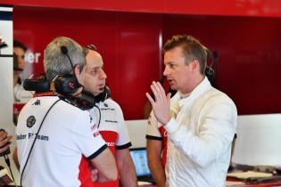 Alfa Romeo terug bij af, bolide compleet vernietigd