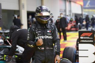 Hamilton na ijzersterke kwalificatie: 'Ik moest mezelf knijpen'