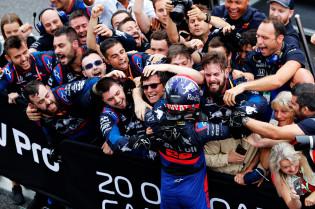 Doornbos: 'Zou mij niet verbazen als Kvyat wordt gepromoveerd naar Red Bull'