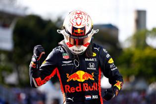 Even nagenieten: De pole ronde van Max Verstappen op Interlagos
