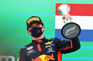 Verstappen: 'Alleen het winnen van de titel kan dat moment overtroeven'