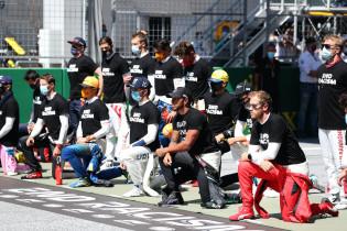 F1 organiseert opnieuw anti-racisme protest na kritiek