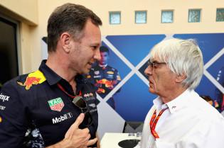 Ecclestone wil Hülkenberg in een Red Bull:  'Hij kan Verstappen mentaal aan'