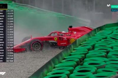 Vettel verloor al 75 punten door fouten van hemzelf en Ferrari