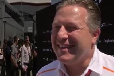 Brown overtuigt: Norris wordt geen Vandoorne of Magnussen
