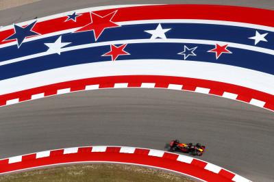 Overzicht tijden Grand Prix Verenigde Staten