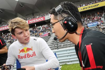 Saward: Red Bull heeft zinnen nog steeds gezet op Ticktum bij Toro Rosso