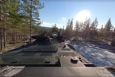 Virtuele 360 beleving op landmachtvoertuigen