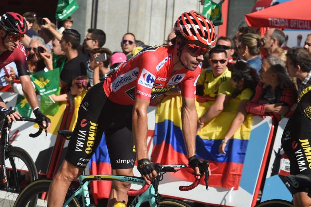 Kranten vol lof: 'Roglic, koning van Spanje en Jumbo-Visma, opvolger Team Sky'