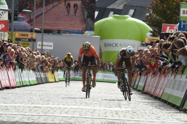 Binckbank Tour etappe 7 | GVA: 'Jammer omdat ik al paar maanden niet meer won'
