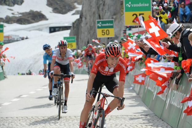 Kämna pakt vierde etappe in Dauphiné, Dumoulin imponeert bergop