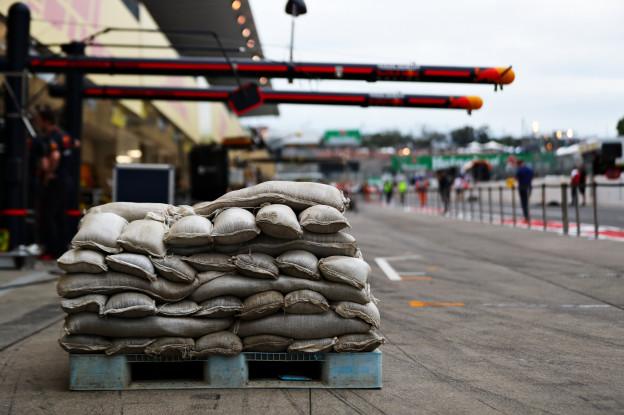 Foto's | Zo bereidt de Formule 1 zich voor op tyfoon Hagibis