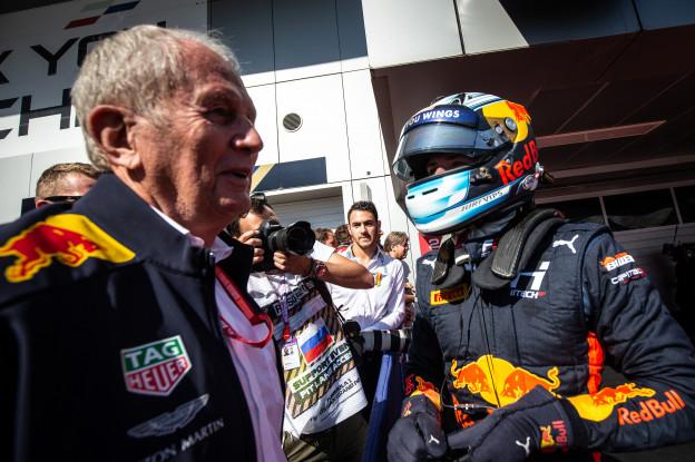Update II | Red Bull-junior Vips ook in actie tijdens Formule 2-race in Rusland