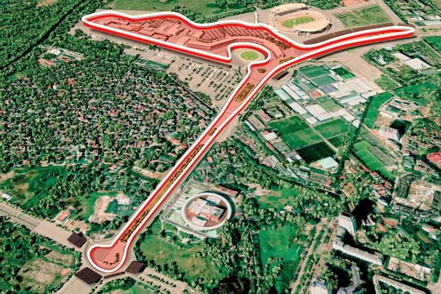 Update   Zo ziet het vernieuwde Vietnamese circuit eruit