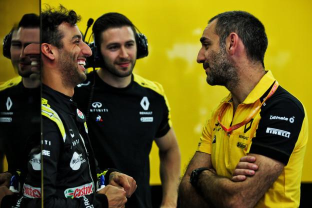 Abiteboul ziet andere Ricciardo bij Renault: 'Er is meer in het leven dan races winnen'