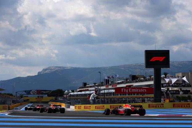 Uitslag eerste vrije training Grand Prix van Frankrijk