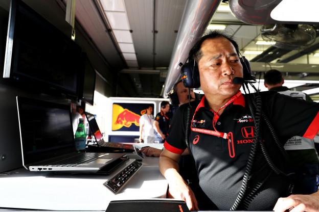 Honda blij met Verstappen: 'Max nestelde zich knap tussen de Ferrari's'