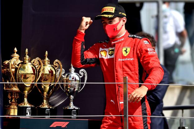 Leclerc: 'Bottas en Verstappen kwamen voor mijn neus terecht, toen wist ik dat het goed zat'