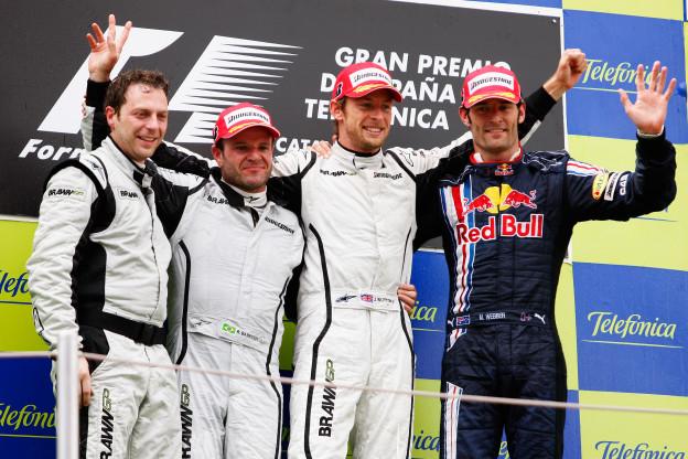 Het ongelofelijke sprookje van Jenson Button en Brawn GP